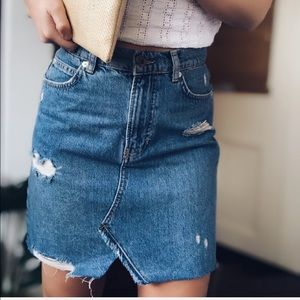 🆕 Free People Hallie Denim Skirt